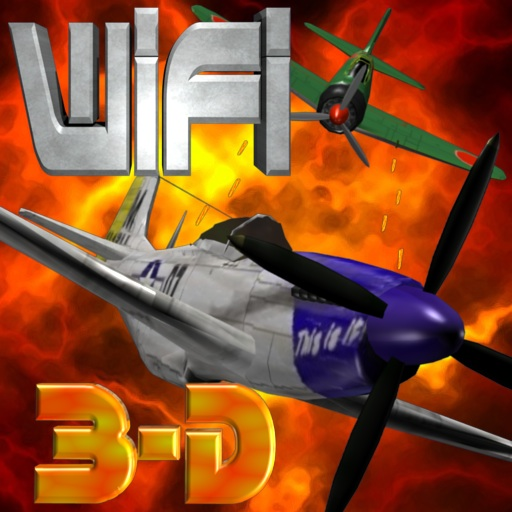 3-D FIGHTER PILOT : Guns of War app icon