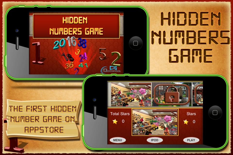 Screenshot Hidden Numbers for iPhone – LITE